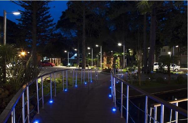 jardim do hotel gramado master palace