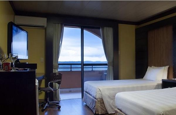 quarto do hotel gramado master palace