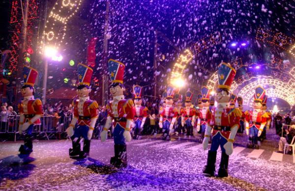 desfile Natal Luz de Gramado