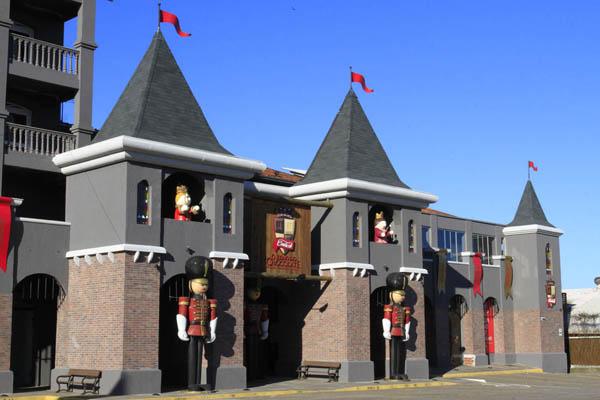 fachada reino do caracol