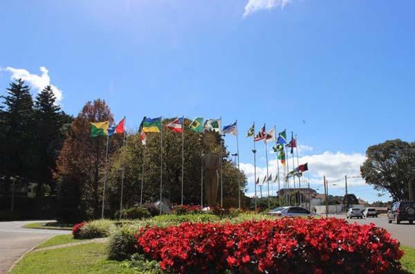 Rótula das Bandeiras - Jardin